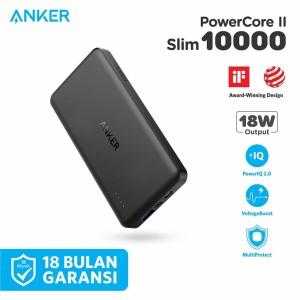 PowerBank Anker PowerCore II Slim 10000 mAh Black - A1261