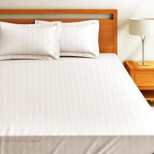 Sprei - Seprei Hotel Putih Polos -Salur-Double 160/180/200x200x30cm