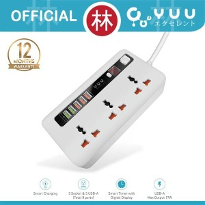 YUU YAD600SS Power Socket With Timer & Auto Disconnect Technology