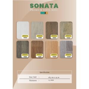 Karpet Roll / Karpet Lantai / Vinyl Lantai Motif Kayu Hyundai Sonata