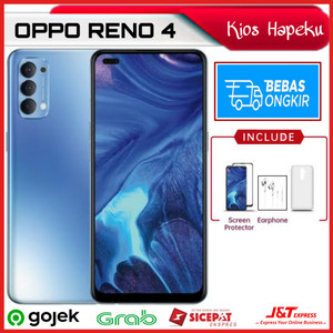 OPPO RENO 4 RAM 8GB/128GB GARANSI RESMI OPPO 1 TAHUN