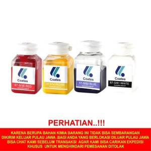 Cat Gelas Coates Warna mini 100gr