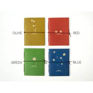 Four Leaf Clovers Kraft Pocket Notes / Buku Tulis / Buku Catatan