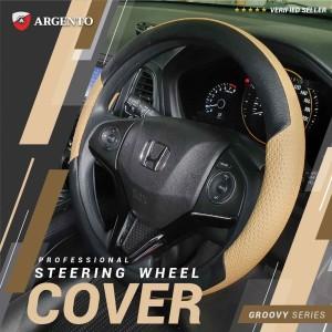 Argento Groovy Sarung Setir -Cover Stir /Cover Steer Mobil Universal