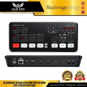 Blackmagic Design ATEM Mini Pro ISO HDMI Live Stream Switcher