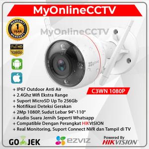 EZVIZ C3WN 1080P Ekstra Wifi Range IP Camera CCTV Outdoor By Hikvision