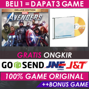 MARVEL's AVENGERS DELUXE EDITION | GAME PC STEAM ORIGINAL