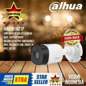 CAMERA HD DAHUA COOPER SERIES 2.0MP HAC-B1A21P Original Resmi