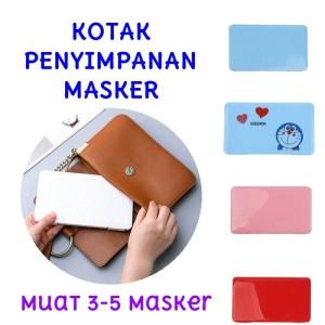 Kotak Penyimpanan Masker Hygienis Mask Case Face Mask Storage