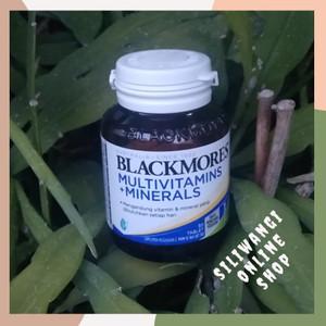 Harga blackmores multivitamin plus mineral untuk daya tahan tubuh isi 30 | HARGALOKA.COM