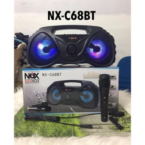 Harga new nx c68bt bluetooth speaker with mic for all tipe | HARGALOKA.COM