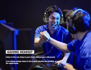Harga headset gaming pro player pubg mobile legends with stero mic   | HARGALOKA.COM