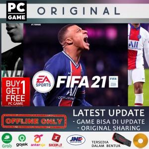 Harga fifa 21 latest update pc original sharing offline only   dvd | HARGALOKA.COM