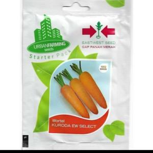 Harga benih bibit wortel kuroda panah merah 1000 | HARGALOKA.COM