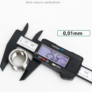 Info Solar Power Digital Vernier Caliper Carbon Fiber Composite Micrometer Katalog.or.id