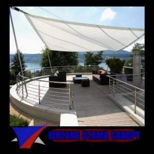 Harga jasa pembuatan kanopi membrane bergaransi murah | HARGALOKA.COM