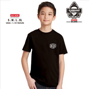 Harga kaos baju anak deus ex machina logo simple kaos otomotif   | HARGALOKA.COM