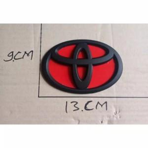 Harga emblem logo grill toyota agya depan dan belakang pengganti lamvang | HARGALOKA.COM
