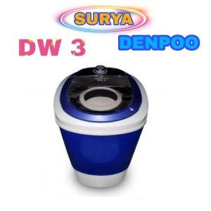 Harga mesin cuci denpoo 1 tabung dw 3 kapasitas 3   HARGALOKA.COM