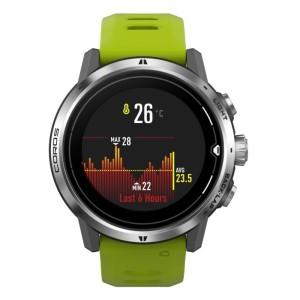 Harga jam tangan wanita coros apex pro silver green multisport gps | HARGALOKA.COM