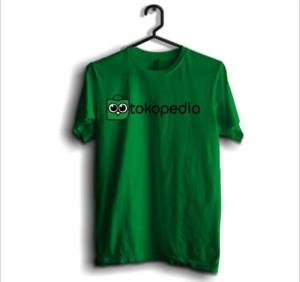 Harga baju tshirt kaos online ecommerce tokopedia hijau     HARGALOKA.COM