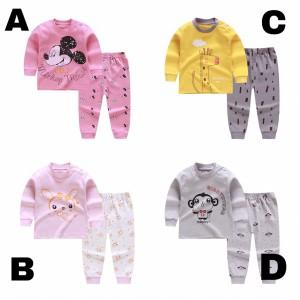 Harga long pajamas set for unisex baby setelan piyama baju tidur anak bayi   kode | HARGALOKA.COM