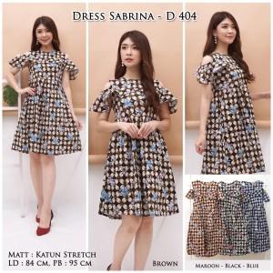 Harga dress batik sabrina motif abstrak bunkashop   | HARGALOKA.COM