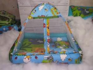 Harga kasur bayi unik kasur kelambu tempat tidur bayi set kasur bayi   HARGALOKA.COM