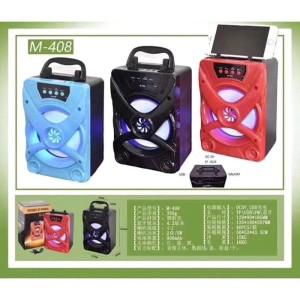 Harga speaker wireless bluetooth portable model m 408 the   HARGALOKA.COM