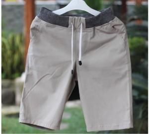 Harga celana chino cinos katun stret distro pendek pria model terbaru   krem   HARGALOKA.COM