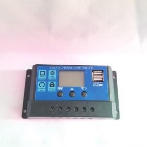 Harga solar panel charger controller 30a panel surya 12v 24v inteligent   HARGALOKA.COM
