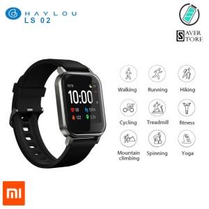Harga haylou ls02 xiaomi smart watch original garansi jam tangan ls 02 | HARGALOKA.COM