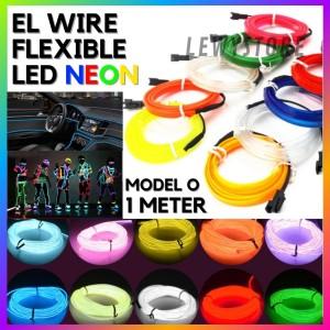 Harga el wire led wire flexible neon per 1 meter flex | HARGALOKA.COM