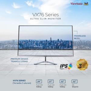 Harga monitor led viewsonic vx3276mhd vx3276 2k mhd 32 34 2560x1440 75hz | HARGALOKA.COM