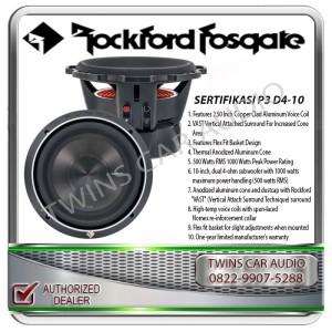 Harga subwoofer pasif 10inch rockford fosgate p3 d4 10 34 | HARGALOKA.COM