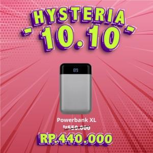 Harga brand charger powerbank xl 10 000 mah avail for   HARGALOKA.COM