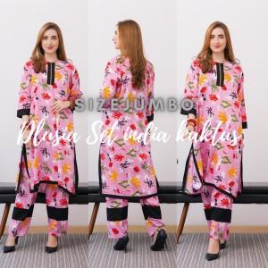 Harga setelan india kaktus by dlusia original baju wanita baju | HARGALOKA.COM