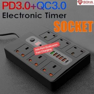 Harga Jual Digital Timer Socket Steker Timer 24 7 Katalog.or.id