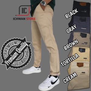 Harga celana pria chino slimfit premium quality celana pria model terbaru   tortilla   HARGALOKA.COM