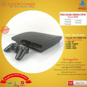 Harga ps3 ps 3 slim sony playstation seri cech 2000 120gb   500gb 1stik op   final fantasy   HARGALOKA.COM