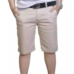 Harga celana chino cinos cino katun stret pendek pria model distro terbaru   krem   HARGALOKA.COM