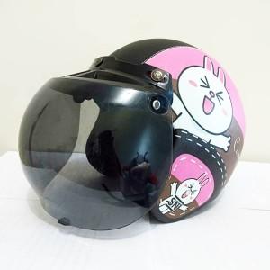 Harga helm bogo kulit motif cony kaca | HARGALOKA.COM