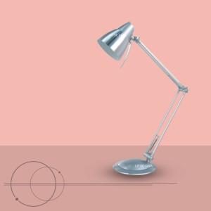 Harga lampu meja belajar klasik modern warna silver | HARGALOKA.COM