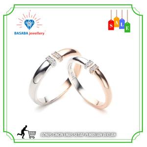 Harga cincin nikah emas asli 750 | HARGALOKA.COM