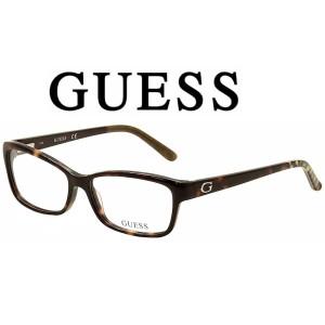 Harga kacamata frame wanita original guess gu2542 052 model elegan   | HARGALOKA.COM