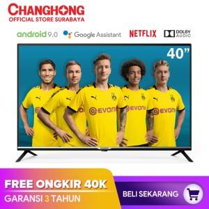 Harga changhong led tv google certified android smart tv 40 inch 40h4 | HARGALOKA.COM