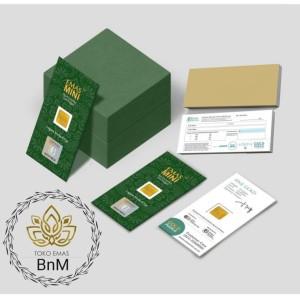 Harga paket reseller emas mini gold logam mulia eoa minigold 24 karat | HARGALOKA.COM