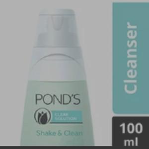 Harga ponds makeup remover shake amp clean 100   HARGALOKA.COM