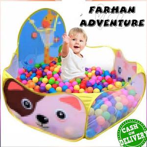 Harga kolam keranjang mandi bola anak mainan bayi motif jerapah   gambar   HARGALOKA.COM