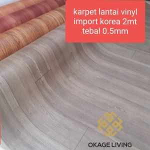 Harga best seller   kayu abu korea   karpet lantai vinyl mewah awet | HARGALOKA.COM